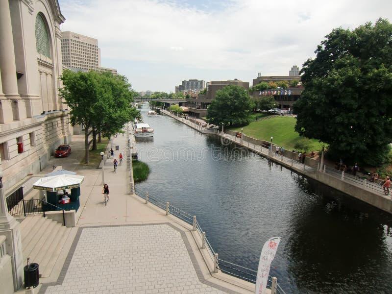Ottawa Ontario Canada in the Summer royalty free stock photo
