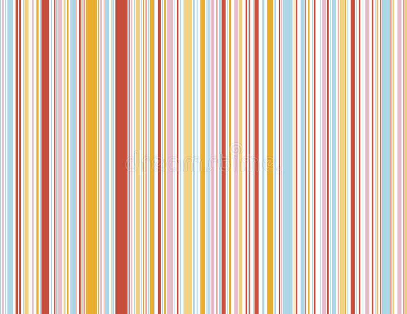 Summer Candy stripes royalty free illustration