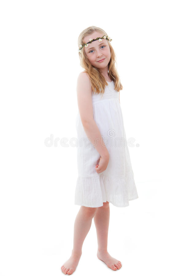 Summer child stock images