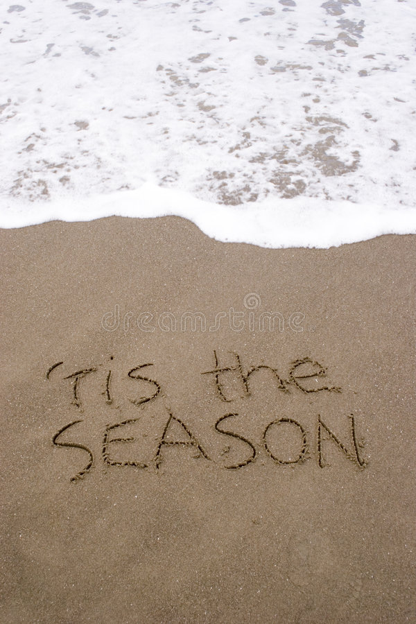 Download Summer Christmas 06 stock image. Image of sandy, water - 1552375