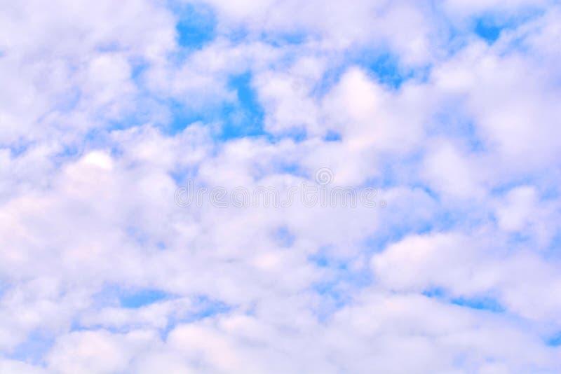 Summer cloud sky. A Summer cloud sky background stock photos