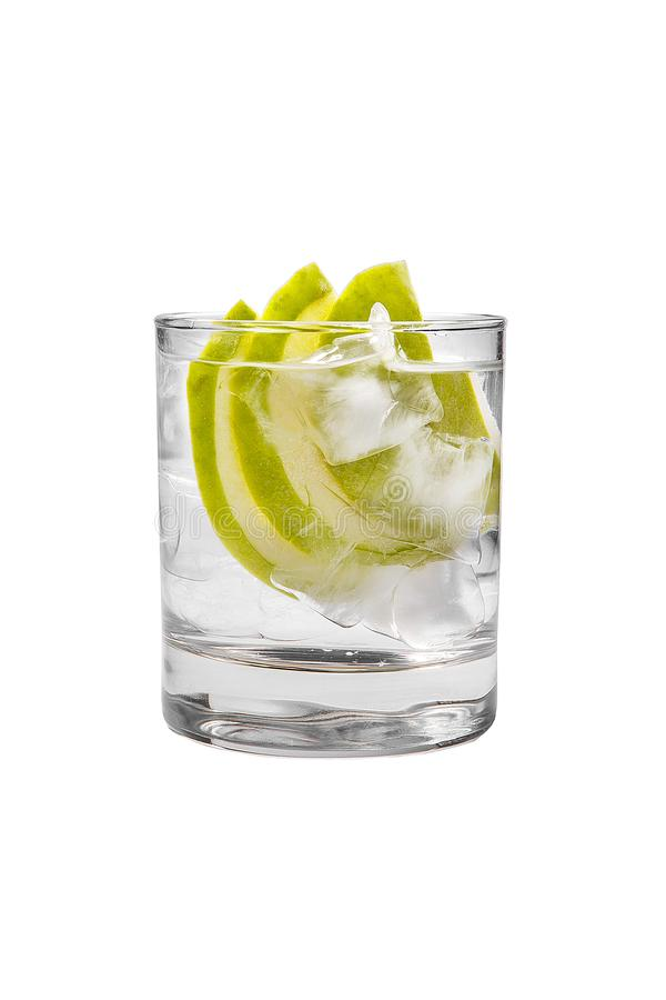 Free Summer Cocktail On Isolated White Background Stock Photography - 114603282