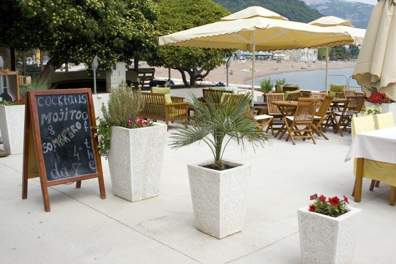 Summer coffee bar royalty free stock image