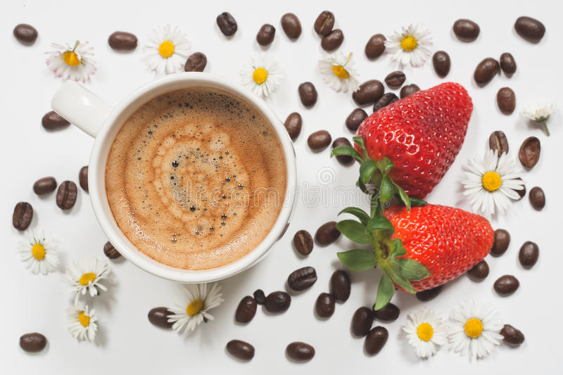 Summer coffee royalty free stock images