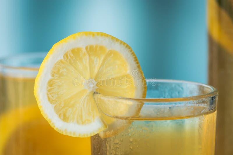 Mint lemon tea royalty free stock image