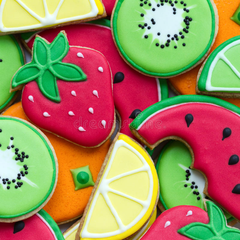 Summer cookies royalty free stock image