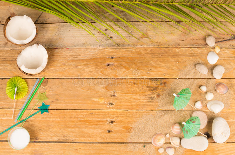 Summer cosmetics royalty free stock photography