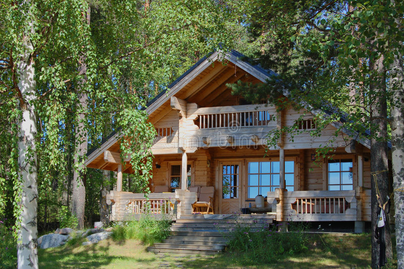 Summer cottage royalty free stock photo
