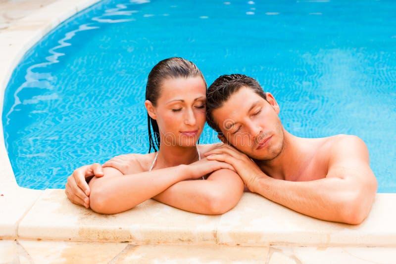 Summer Couple Stock Image