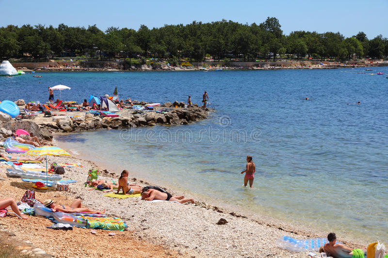 Summer in Croatia royalty free stock photography