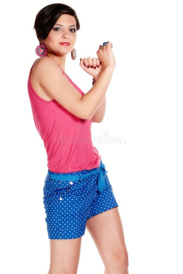 Summer Dancing Stock Image