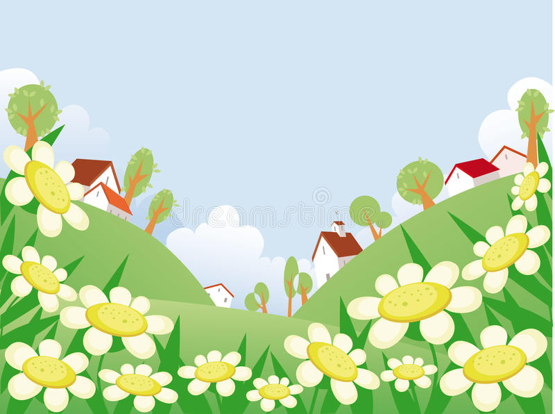 Download Summer Day Landscape Royalty Free Stock Photography - Image: 9511767