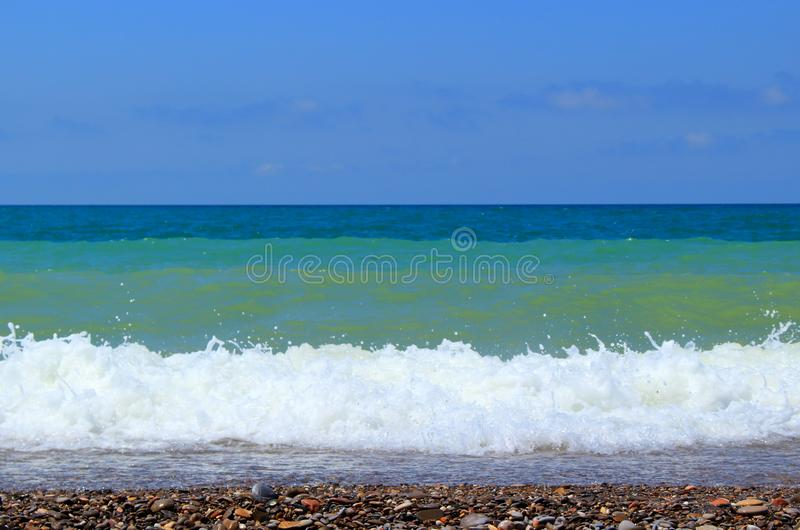 Summer day on sea royalty free stock images