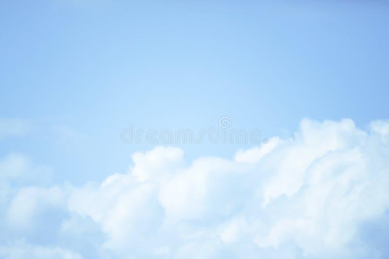 BEAUTIFUL BLUE SKY CLOUD OF SUMMER royalty free stock photos