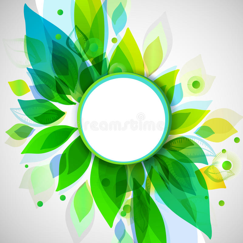 Download summer decorative background with circle sticker stock vector illustration of energy loading