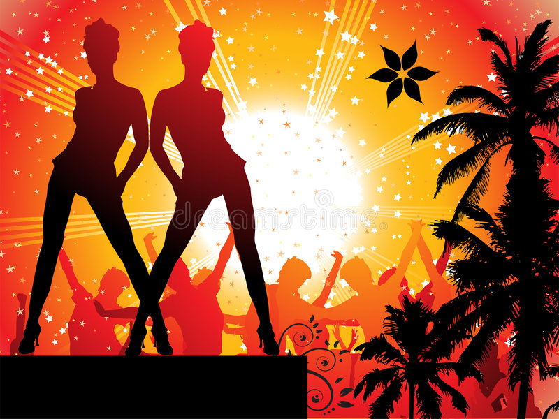 Download Summer Disco Royalty Free Stock Photography - Image: 5831727