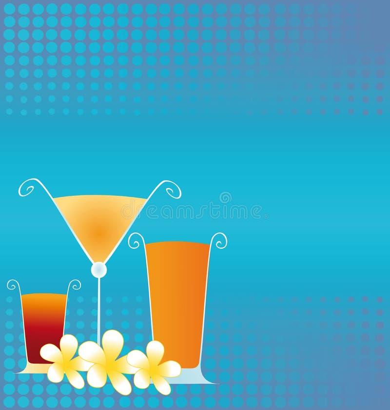 Summer Drinks vector illustration