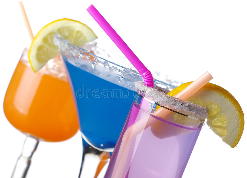 Download Summer drinks on white stock photo. Image of relax, drink - 8251490