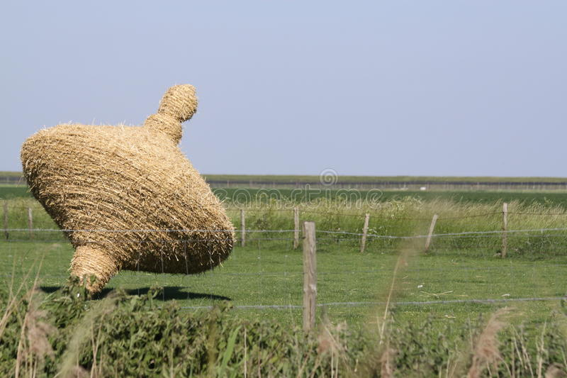 Summer in the Dutch province of Zeeland in Holland stock photo