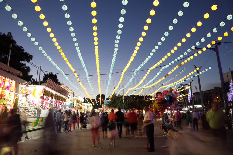 Download Summer Fair Of Algeciras, Spain Editorial Stock Image - Image: 32212764