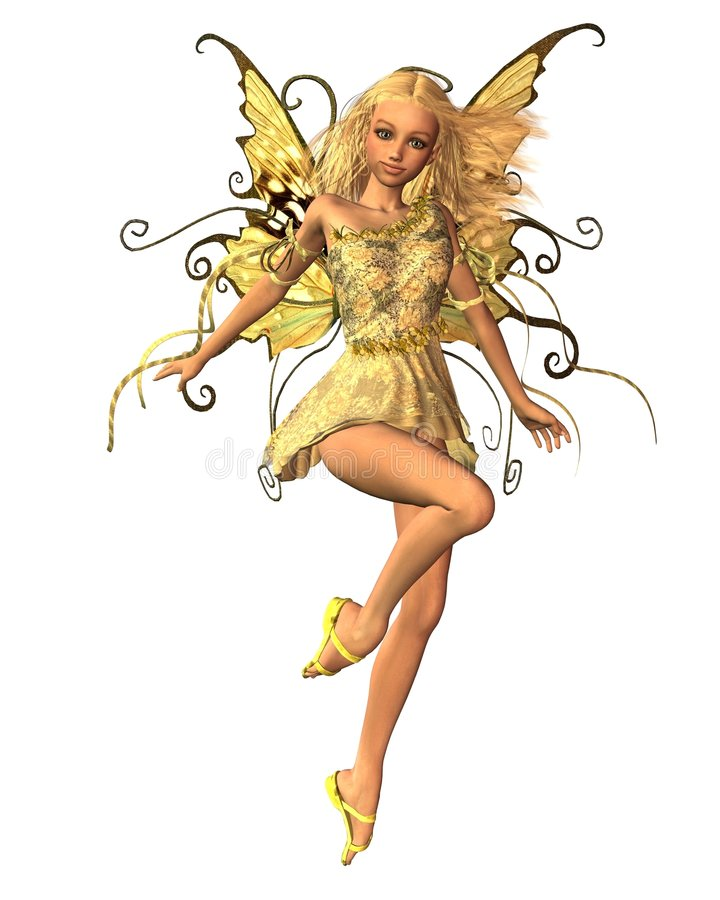 Summer Fairy - 1 royalty free stock images