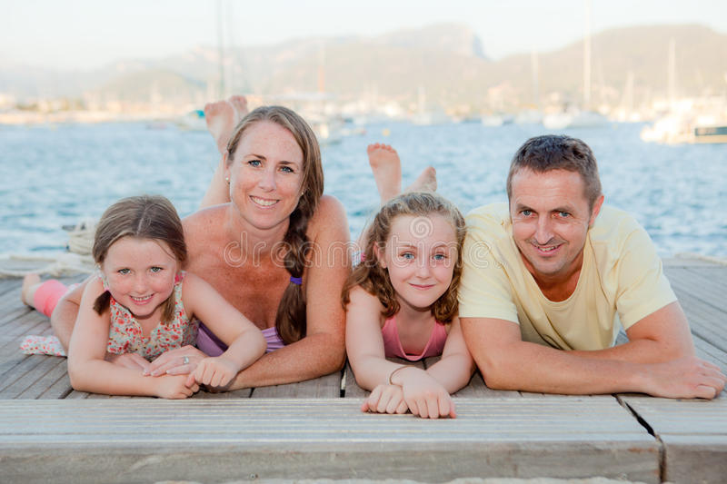 Summer family royalty free stock photography