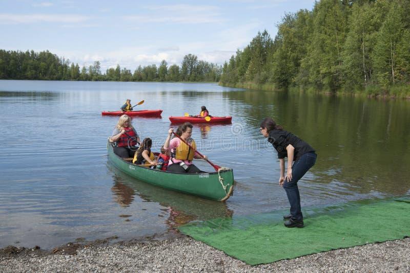Download Summer Family Fun Day Reflections Lake Alaska Editorial Photo - Image of summer, alaskans: 56854921