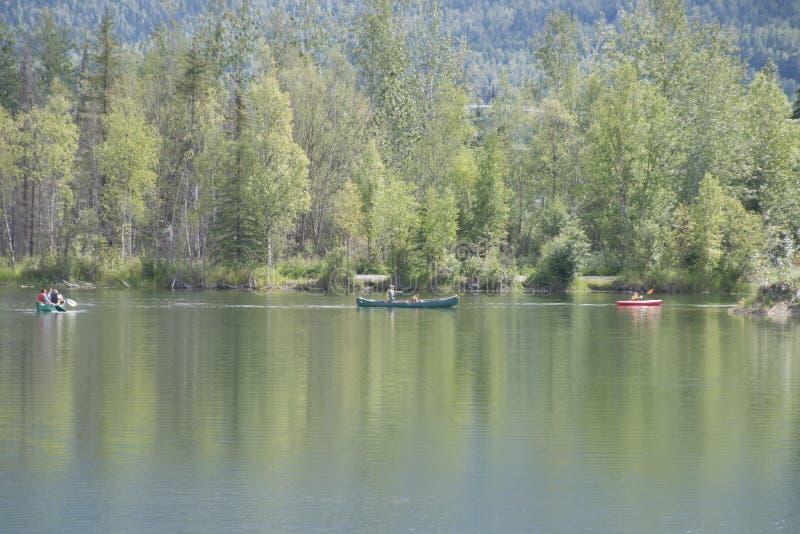 Download Summer Family Fun Day Reflections Lake Alaska Editorial Photography - Image of alaskans, flats: 56855122