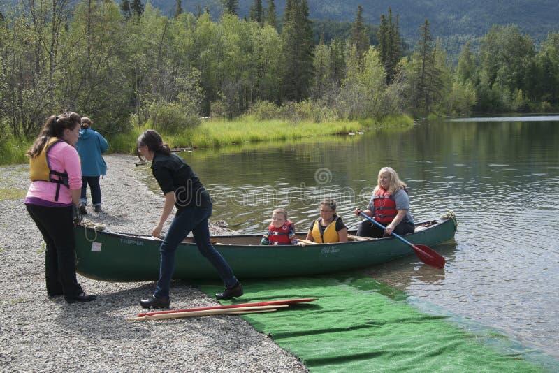 Download Summer Family Fun Day Reflections Lake Alaska Editorial Photo - Image of lake, reflections: 56855341
