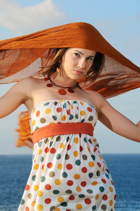 Download Summer fashion stock image. Image of modern, natural, lady - 6130957