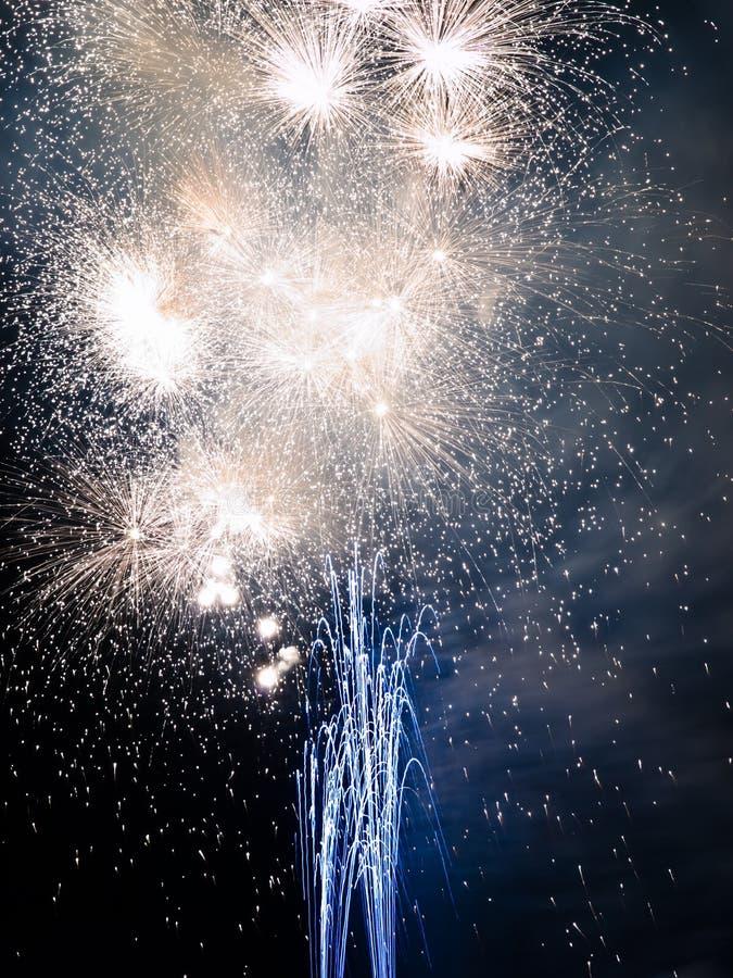Summer Firework festival royalty free stock image