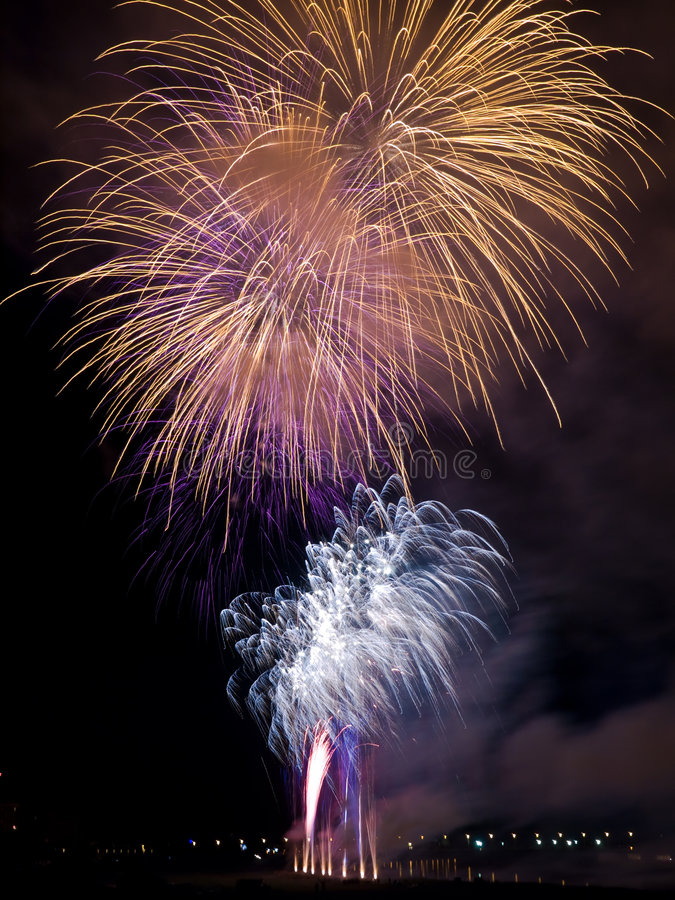 Download Summer Firework festival stock image. Image of happiness - 5658163