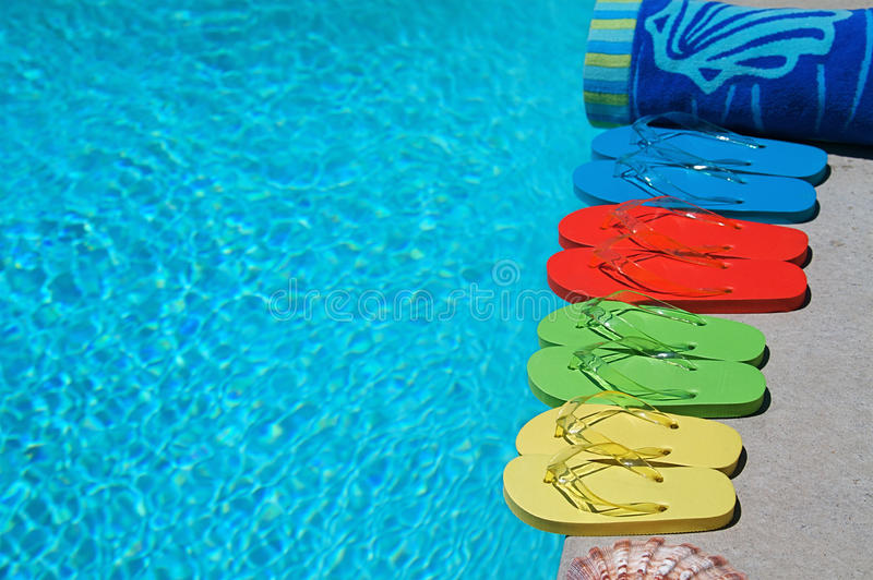Download Summer Flipflops stock photo. Image of family, holiday - 14645804