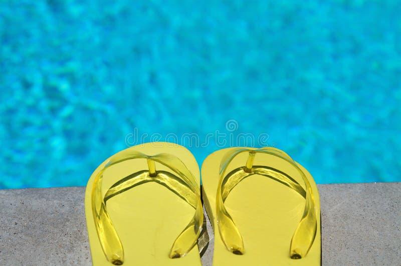 Summer Flipflops Stock Photography