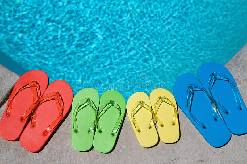 Summer Flipflops Royalty Free Stock Image