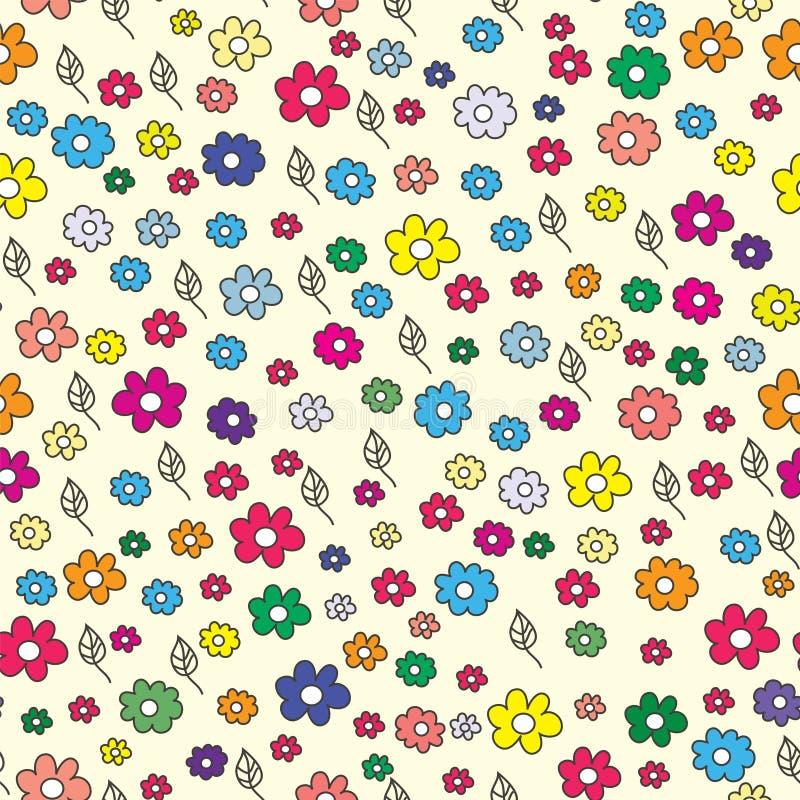 Download Summer Floral Seamless Pattern Stock Vector - Illustration: 15235349