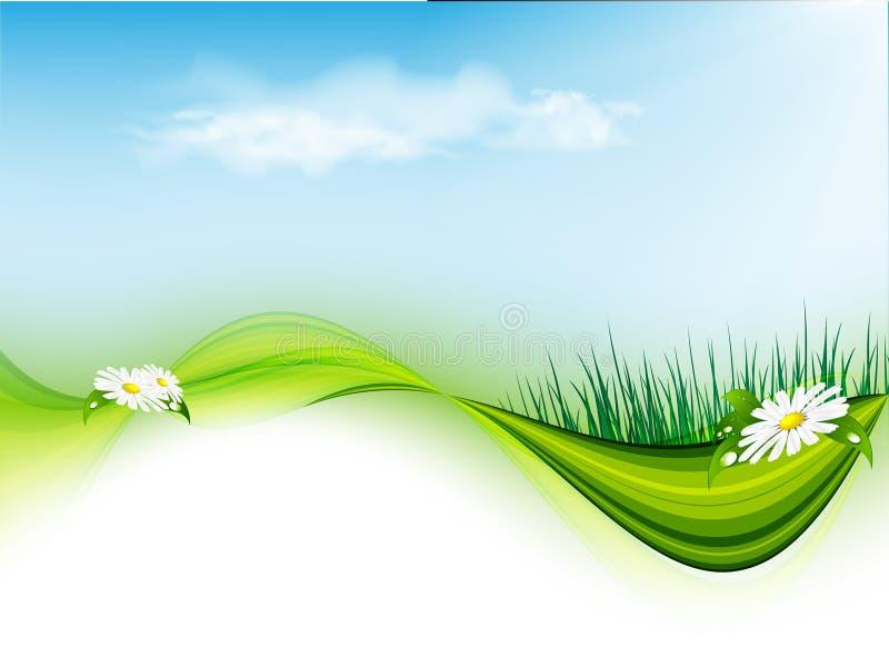 Summer floral vector. Eps10