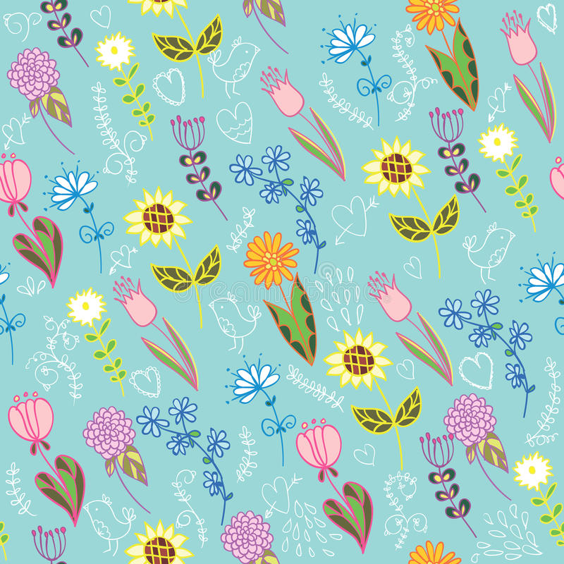 Download Summer flower background stock vector. Illustration of imagery - 26631654