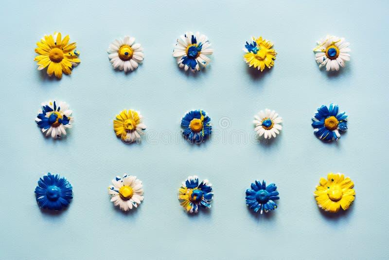 Summer flower card stock photo