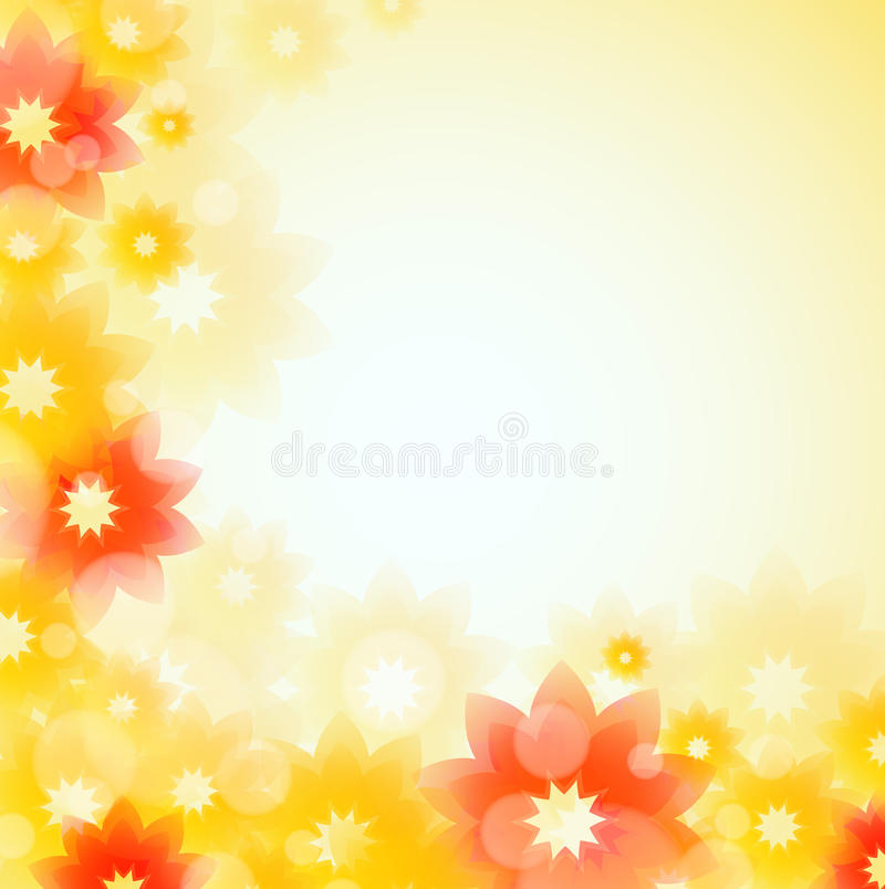 Download Summer Flowers stock illustration. Image of peace, peaceful - 23050237