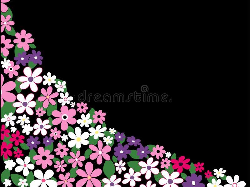 Summer flowers stock illustration