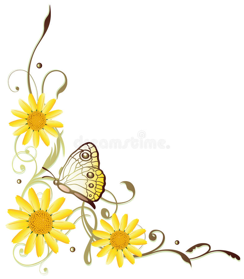 Download Summer flowers stock vector. Image of classical, blossom - 42262119