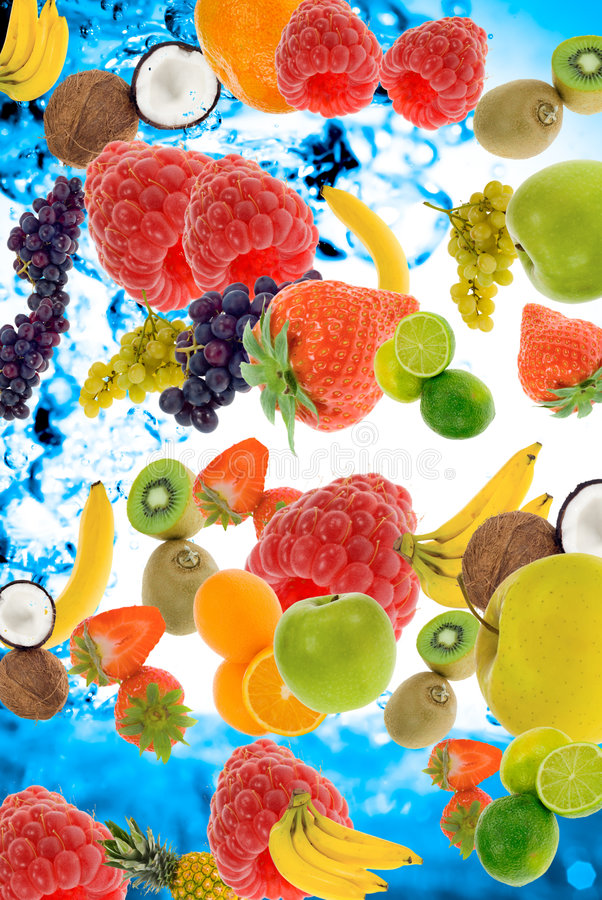 Summer fruit stock photos