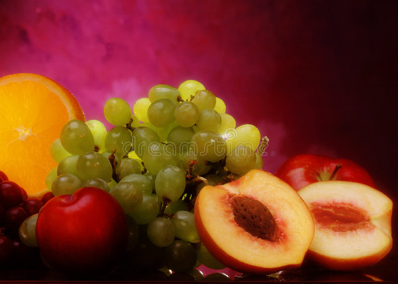 Download Summer Fruit stock image. Image of plums, market, produce - 64951