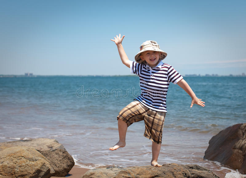 Summer fun stock photography