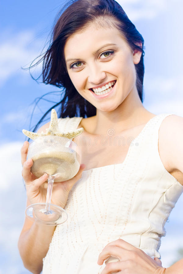 Download Summer Fun stock photo. Image of lifestyle, brunette - 19892042