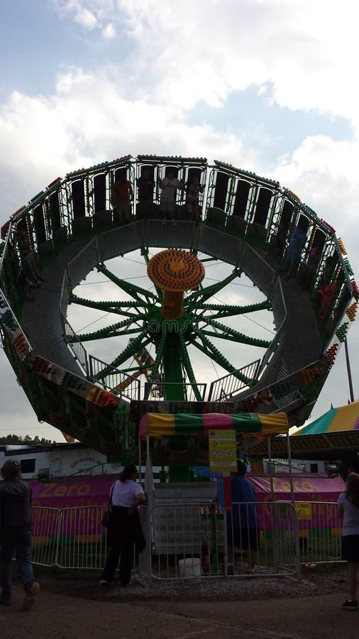 Summer Fun Carnival Rides stock photos