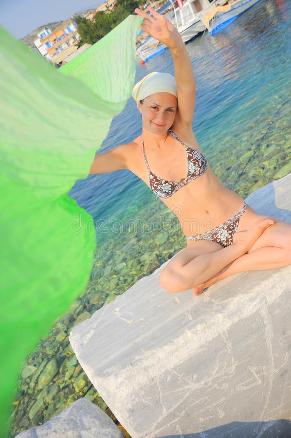 Download Summer Fun And Relaxation (woman Portrait) Stock Photo - Image: 14862642