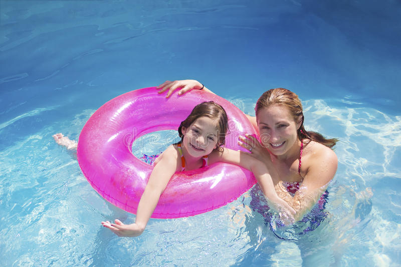 Download Summer Fun In The Swimming Pool Stock Image - Image: 24182185