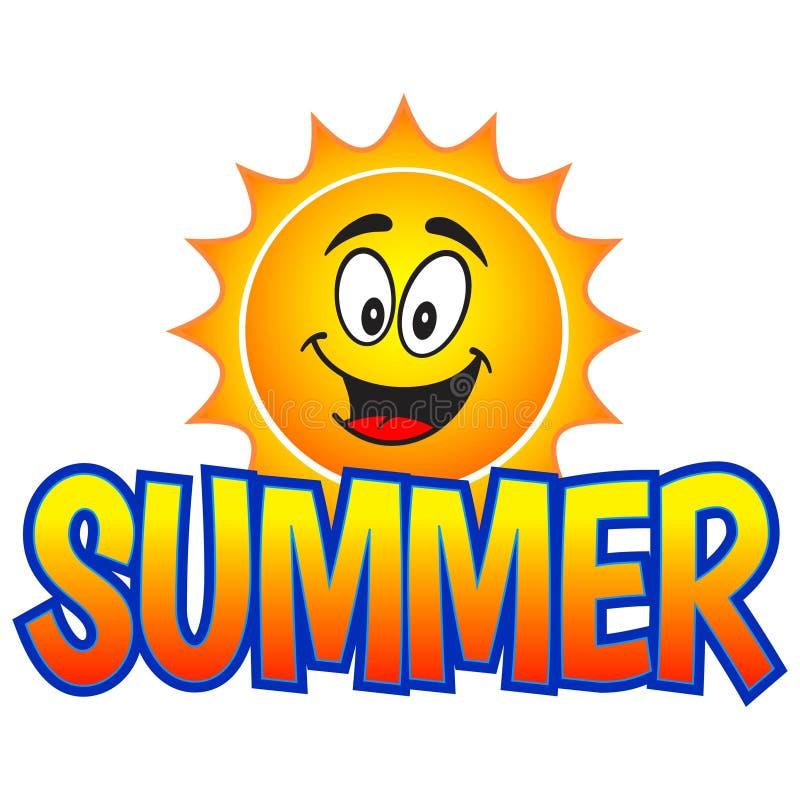 Summer Fun. A vector illustration of a Summer Fun graphic stock illustration